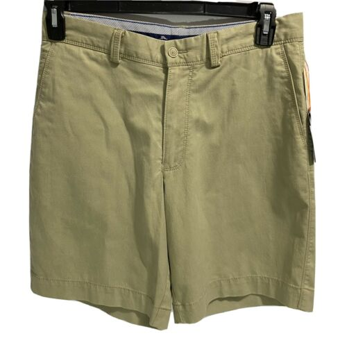 $98 Tommy Bahama Mens Ashore Thing Chino Khaki Shorts 30 Beach Hawaiian Golf Clothing, Shoes & Accessories