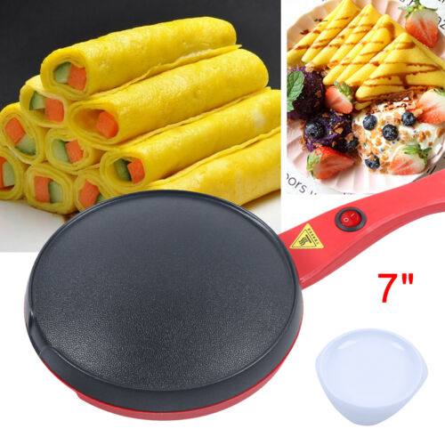 7 inch electric crepe maker baking pancake
