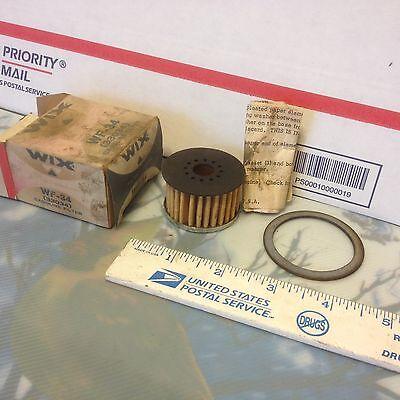 Fuel filter, WIX PN WF-34.    Item:  9350