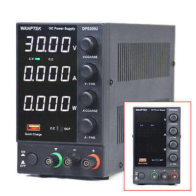 Dc Bench Power Supply Variable 0-30v 0-5a Adjustable Switching Regulated Hotsale