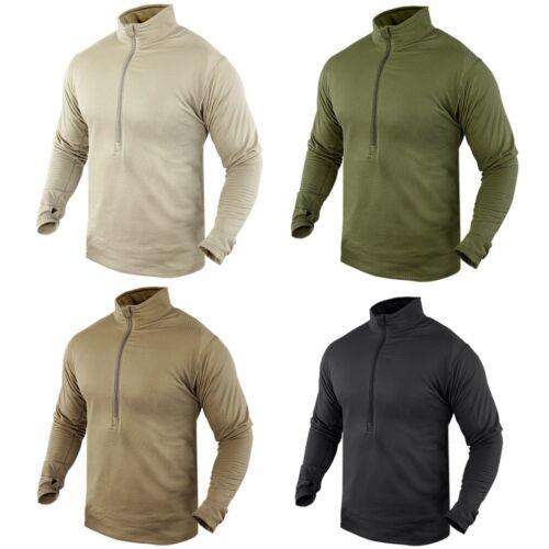 Condor 603 Thermal Fleece BASE II Zip Pullover Operator Tactical Jacket Shirt