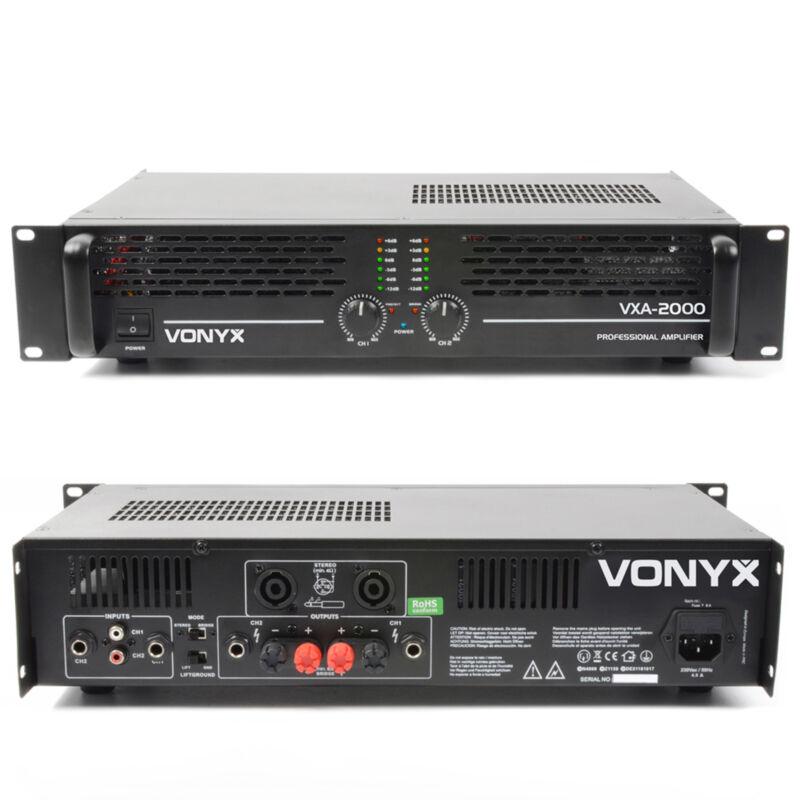 Vonyx 172.056 DJ Power Amplifier 2000 Watt