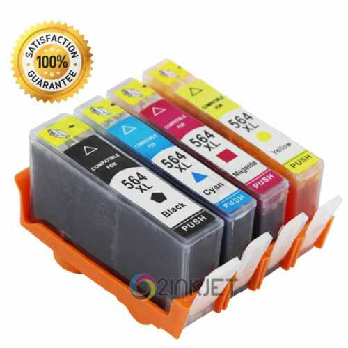 4 pack generic ink cartridge for 564xl