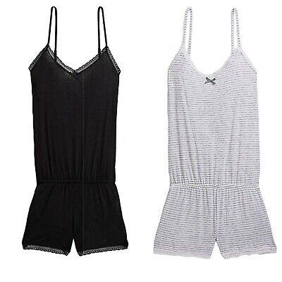 Calvin Klein Women's V-Neck Romper, Sleepwear (QP1214O) Calvin Klein Womens Sleepwear