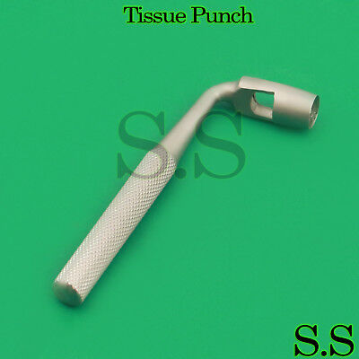 3 Dental Tissue Punch 6mm Angled L Shape Surgical Instruments