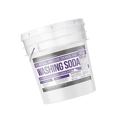 All-natural Washing Soda 1 Gallon 9 Lbs By Earthborn Elements Soda Ash ...