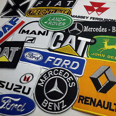 Truck Patches   Van   Commercial Vehicle Embroidered Iron On Patch Shop   New