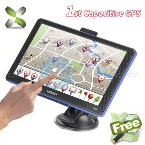 XGODY 7 Zoll 8GB LKW Truck Europe Traffic GPS Navi Navigation Navigationssystem