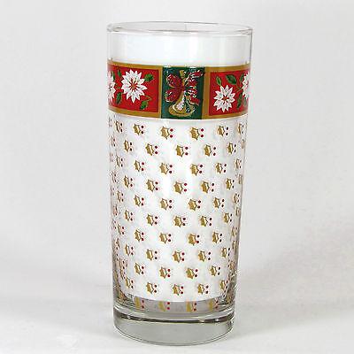 Classic Traditions Holly (Kobe CHARLTON HALL 14oz Glass Tumbler Classic Traditions Poinsettia)