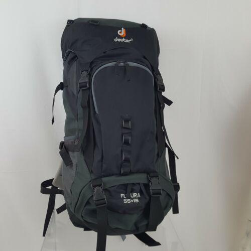 DEUTER Futura 55 + 15 Black Backpack Internal Frame Light Weight
