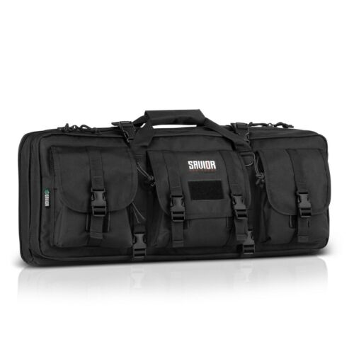 "Savior Equipment  American Classic 24"" double rifle carry bag - Black"