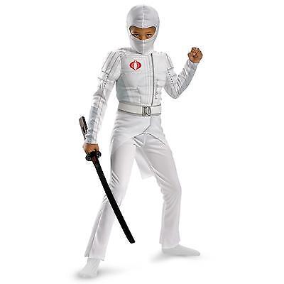 Stealth Ninja Warrior GJ Joe Storm Shadow Rataliation Light Up Boys Costume