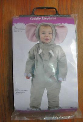 Halloween Elephant Ears (CUDDLY ELEPHANT HALLOWEEN costume or dress up with BIG EARS    6-12M    )