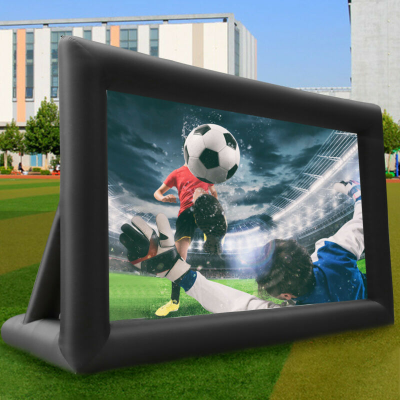 Pro 20FT Inflatable Projector Screen Movie Theater Screen Se
