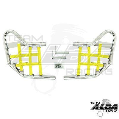 Yamaha Raptor 700 YFM700  Nerf Bars   Alba Racing   Silver Yellow  197 T1 SY