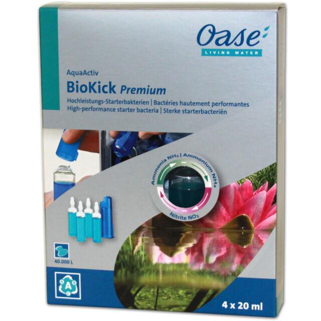 OASE BioKick PREMIUM HOCHLEISTUNGS STARTERBAKTERIEN - AquaActiv Teich Bakterien