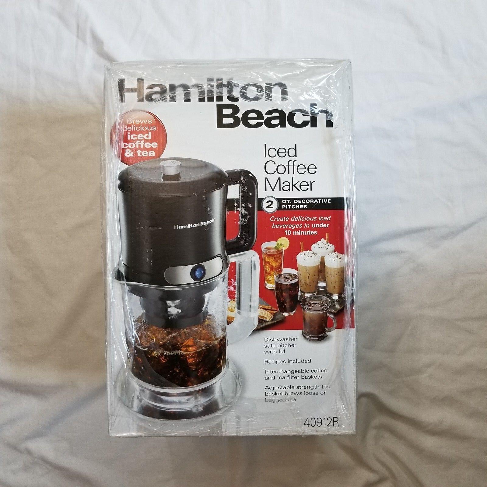 Hamilton Beach Iced Coffee/Tea Maker Model 40912