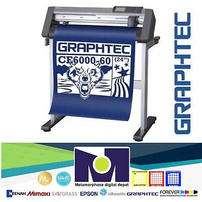 24 Graphtec Ce6000-60 Plus Vinyl Cutterplotter Free Delivery