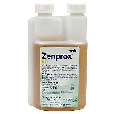 Zenprox EC Professional Bed Bug Spray Kills Adult Bed Bugs + Bed Bug Nymphs -