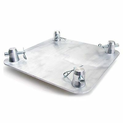 "Global Truss SQ-4137 12""X12"" Aluminum Base Plate For Square Trussing"