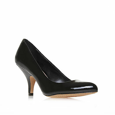 VICKIY VINCE CAMUTO PATENT BLACK WOMENS LADIES SHOE