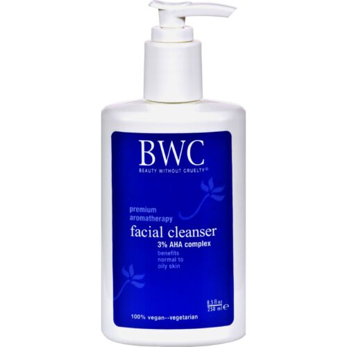 Beauty Without Cruelty A.H.A. 3% Facial Cleanser, 8.5 ozs.