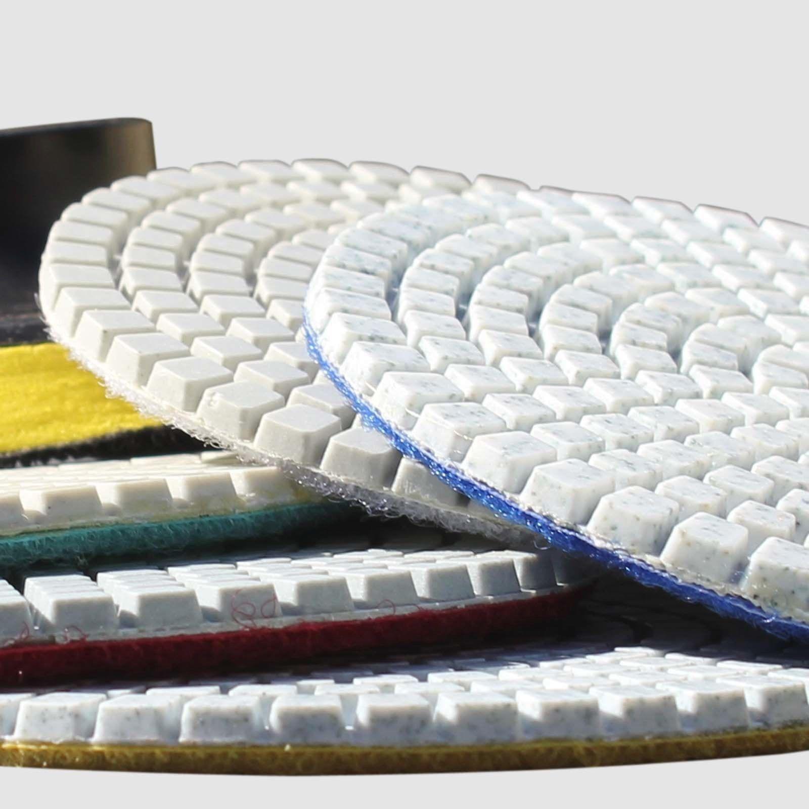 Wet Dry Diamond Polishing Pads 4 Inch Set Kit For Granite