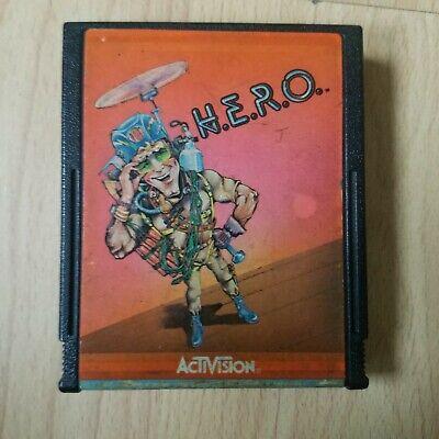 H.E.R.O. Atari 2600 VCS- Tested & Working - Hero Activision
