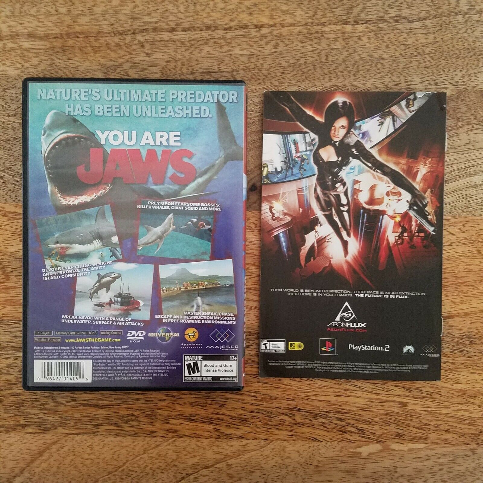 Jaws Unleashed Sony PlayStation 2 PS2 Greatest Hits Video Game 2006 Complete CIB - $16.99