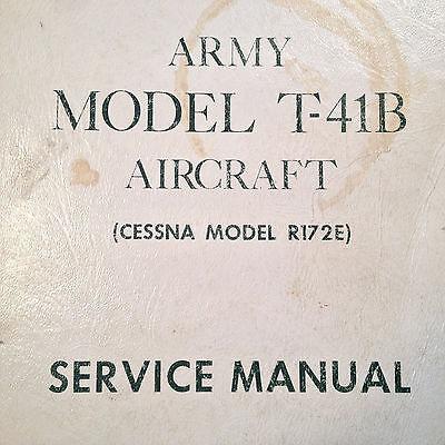 Cessna T-41B Model R172E Service Manual
