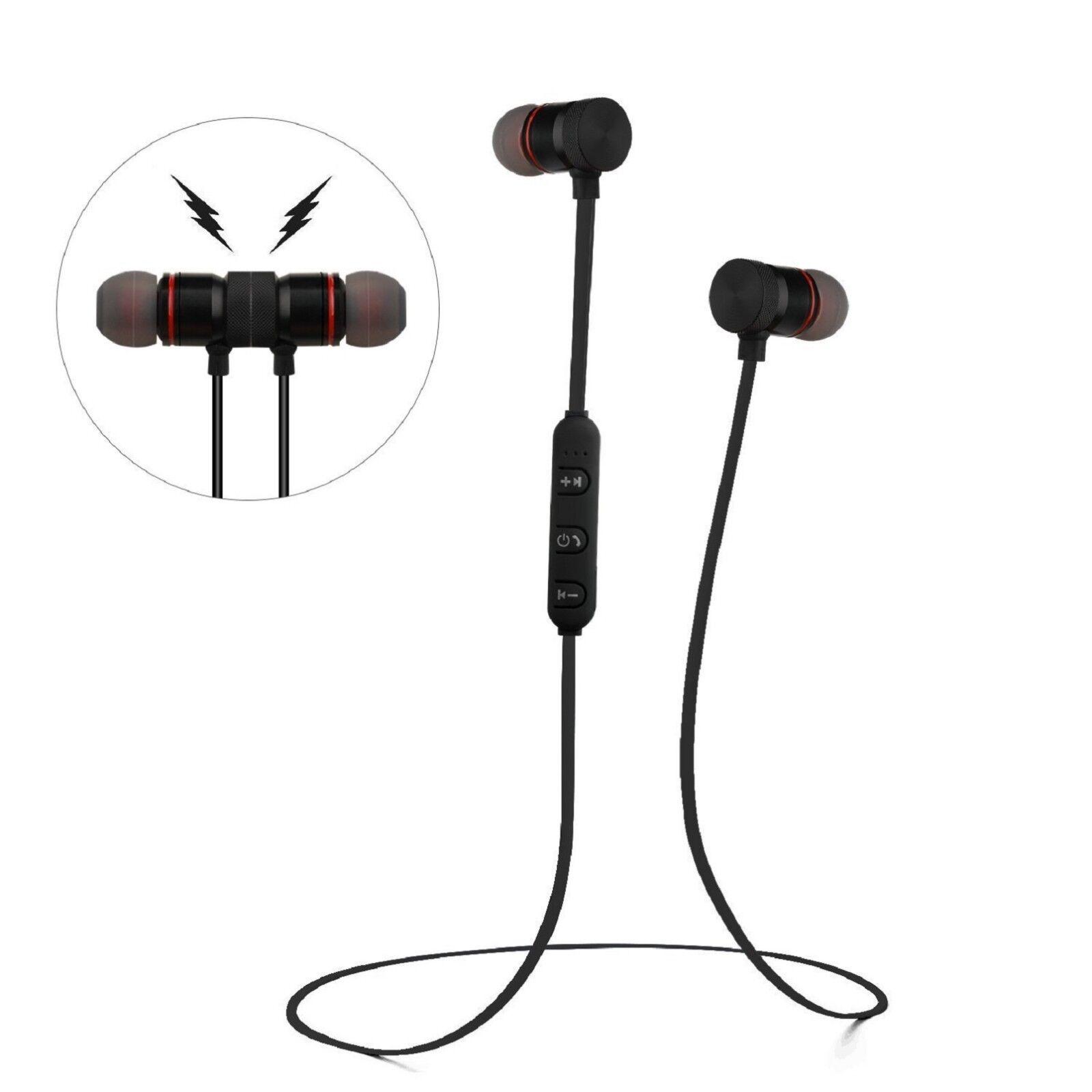 Sweatproof Bluetooth Earbuds Sports Wireless Headphones in Ear Headsets