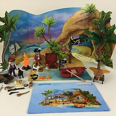 Playmobil Pirate Island Treasure Advent Calendar 4156 Playset Toy 100% Complete