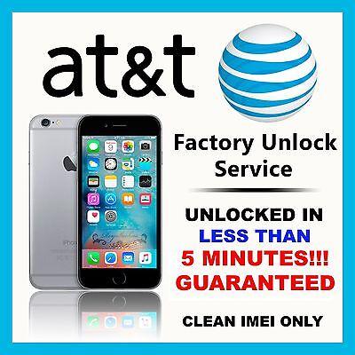 FOR ATT APPLE IPHONE 6 | 6S | SE 7 AT&T SEMI PREMIUM FACTORY UNLOCK CODE SERVICE