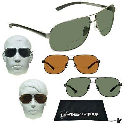 Polarisiert Bifokale Aviator Lesen Sonnenbrille für Herren Damen Unisex Sonne
