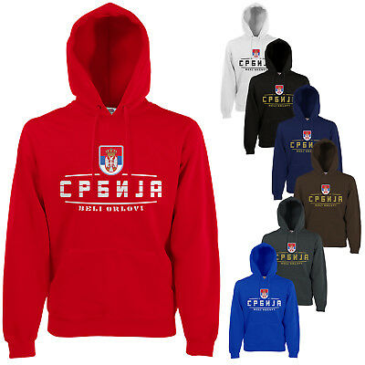 Serbien Wm (Serbien  Fan Hoodie Kapuzenpullover WM2018)