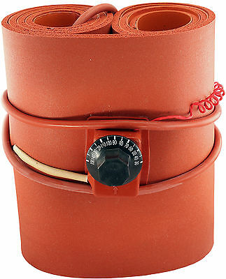 110v 1500w Insulated Silicon Drum Heater Wvo Oil Biodiesel Plastic Metal Barrel