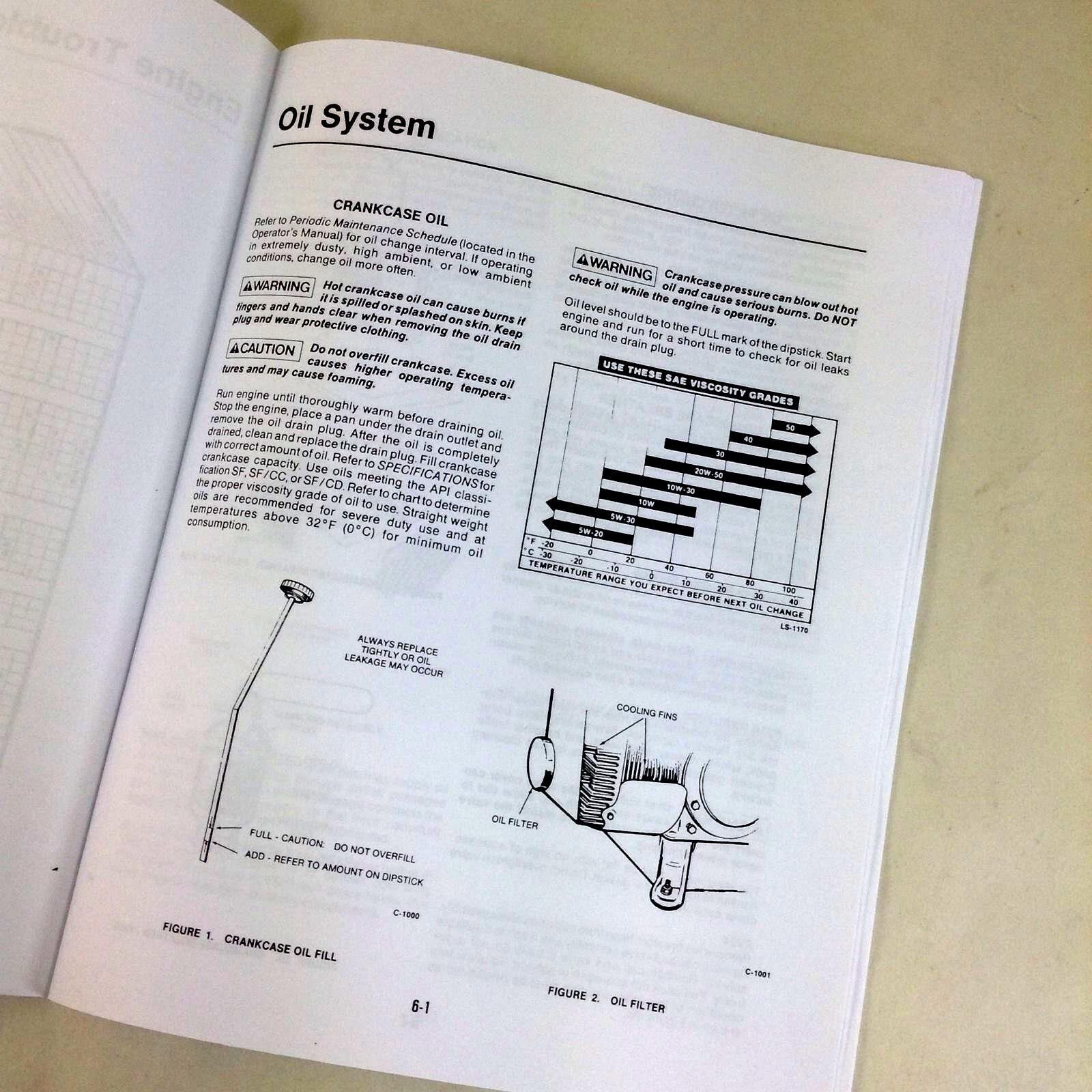 service manual for john deere 318 420 316 lawn garden