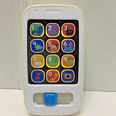 Fisher Price Mattel Cell Phone Toddler Baby Toy Light Music Sounds Learn Numbers