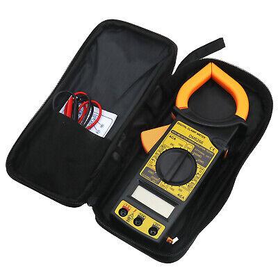 Digital Clamp Multimeter Amp Meter Acdc Current Voltage Volt Tester Probe Tool