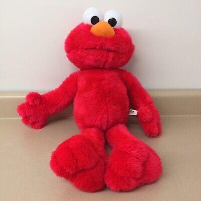 "Sesame Street Plush Large ELMO Stuffed Animal Toy 25"" Tall Soft EUC AR188"