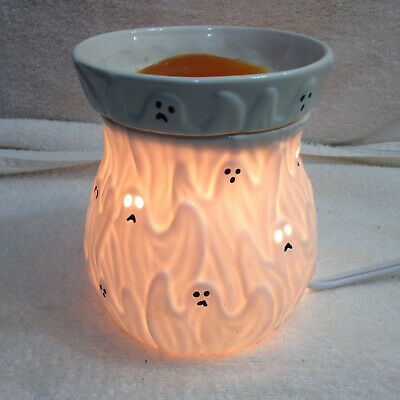 Scentsy Ghouls & Ghosts Wax Oil Warmer Aromatherapy Retired Halloween Decor