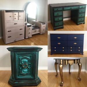 Vintage painted furniture for sale! Reduced to sell*