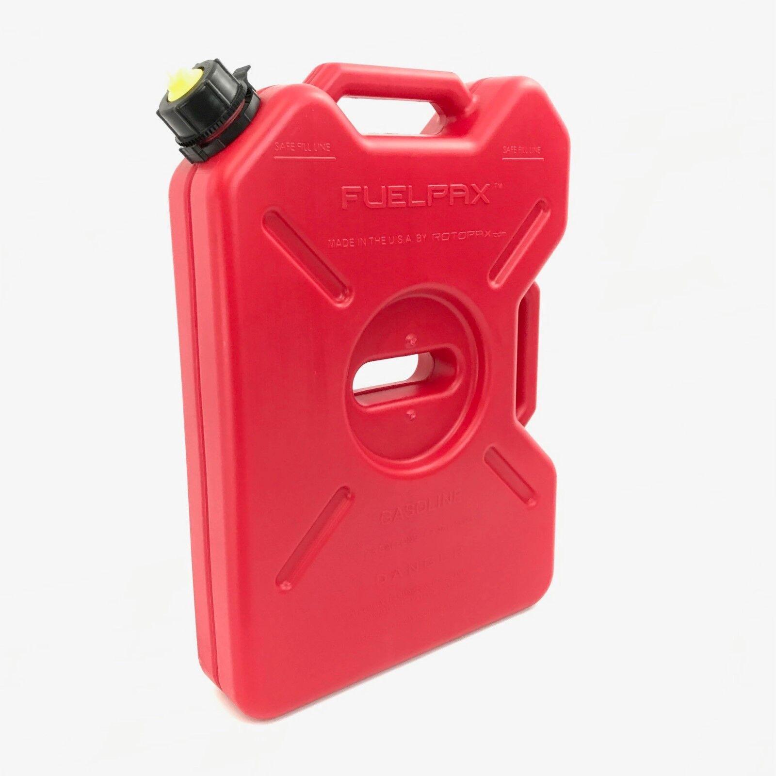 FUELPAX Gasoline Container 2.5 Gallon RotopaX, Kolpin, Jeep, RZR, Polaris