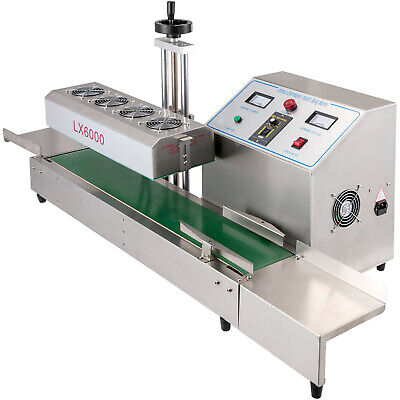 Induction Bottle Sealer Lx-6000 Continuous Sealing Machine For 80-300mm Height