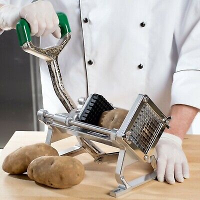 38 Heavy Duty French Fry Cutter Potato Slicer Commercial Restaurant Veggie New