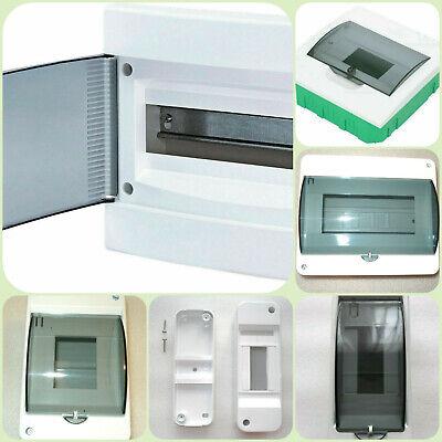 Electrical Box For Circuit Breakers 2-18 Pole Din Rail Flush Enclosure