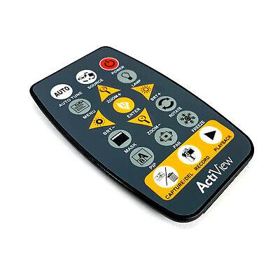 Genuine Promethean Actiview Projector Document Camera Remote Control