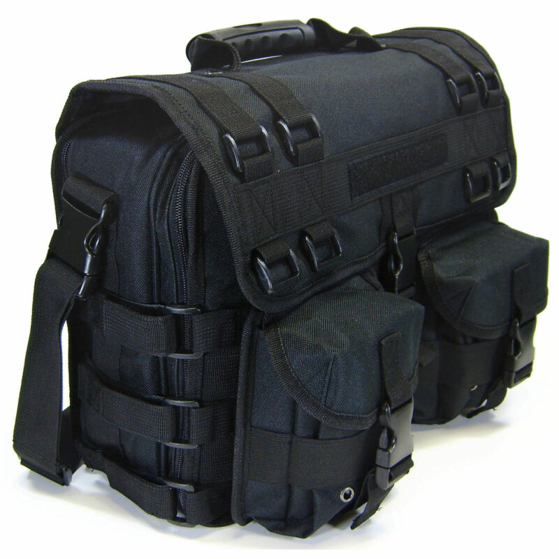 Brand New Shooting Tactical Gun Range Bag Carry Pistol Holsters Ammo Pocket Case