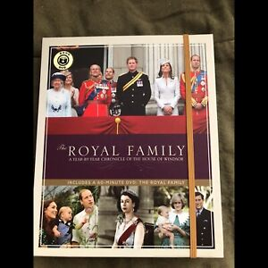 Royal Family Collectors Book and DVD