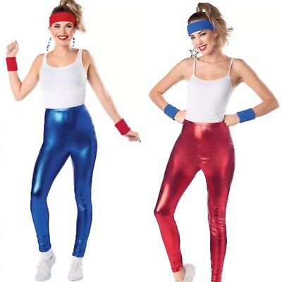 HYDE & EEK! BOUTIQUE Women's Retro Shiny Leggings Halloween Costume Accessory](Boutique Halloween Costumes)